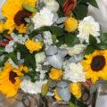 Fresh Sunflower mixed bunch