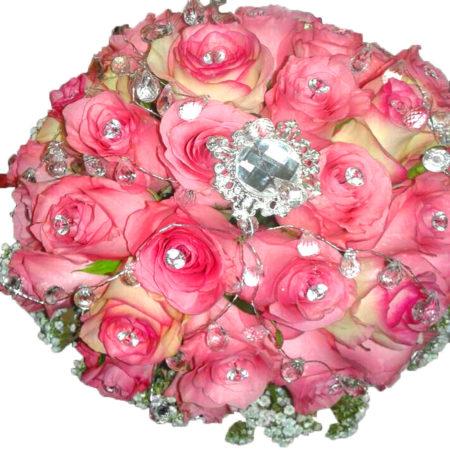 Bouquet Diamante Roses