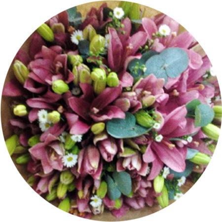 Fresh Flower Bunches 025